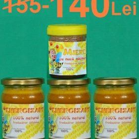 Energizant si miere cu nuca macinata
