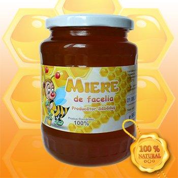 Mierea de Facelia 960g - Miere Sabadus