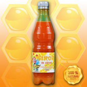 sirop de catina cu miere, nepasteurizat