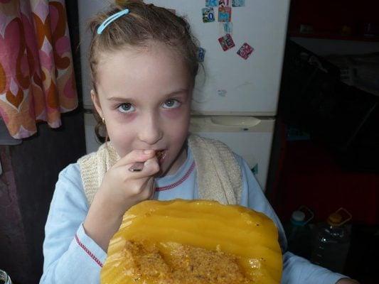 Anissia Ioana la degustat