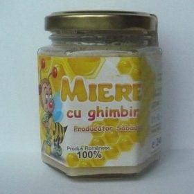 miere cu ghimbir