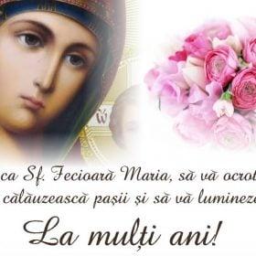 felicitare Sf. Maria