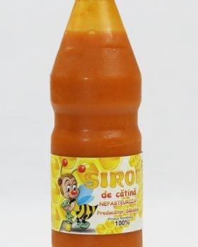 Sirop de catina cu miere, Natural 100%, NEPASTEURIZAT - www.mieresabadus.ro