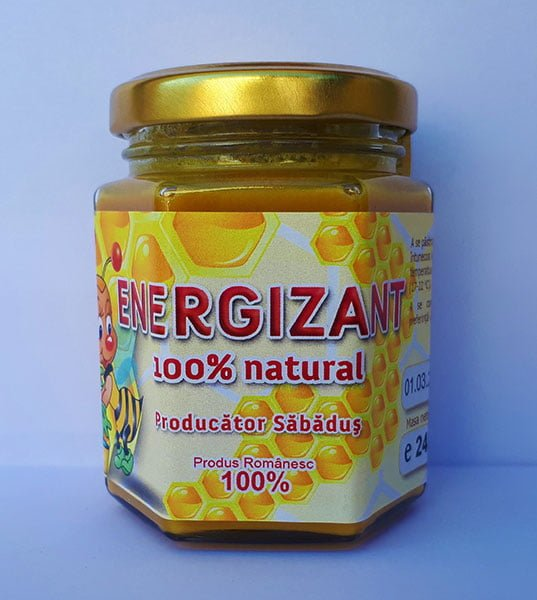 Energizant 100% natural, din miere 240gr
