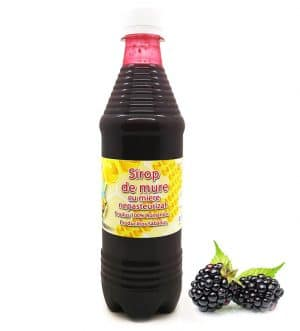 Sirop de Mure cu miere (fara conservanti, nepasteurizat) - Natural 100%